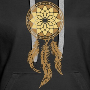 Dreamcatcher, Native Indians, protection Sweatshirts - Dame Premium hættetrøje