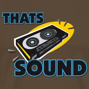 That´s my sound T-Shirts - Men's Premium T-Shirt