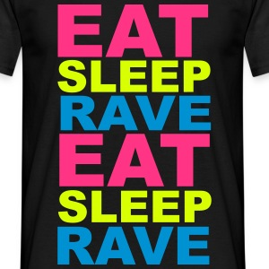 Eat Sleep Rave T-Shirts - Men's T-Shirt