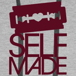 Self Made Sweat-shirts - Sweat-shirt à capuche Premium pour hommes
