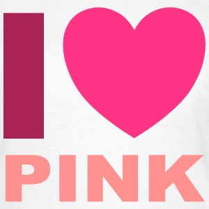 I Love Pink T-Shirts - Women's T-Shirt