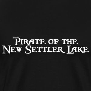 Pirate of the New Settler Lake T-Shirts - Männer Premium T-Shirt