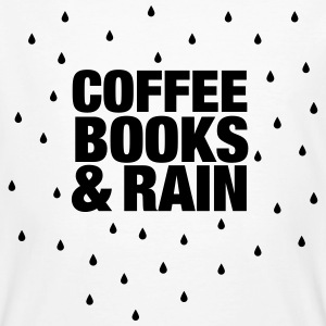 Coffee Books & Rain T-Shirts - Men's Organic T-shirt