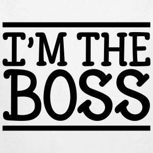 I'm the Boss Pullover & Hoodies - Baby Langarm-Body