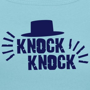 Knock Knock with hat T-Shirts - Women's Scoop Neck T-Shirt