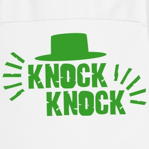 Knock Knock with hat Kookschorten - Keukenschort