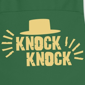 Knock Knock with hat Delantales - Delantal de cocina