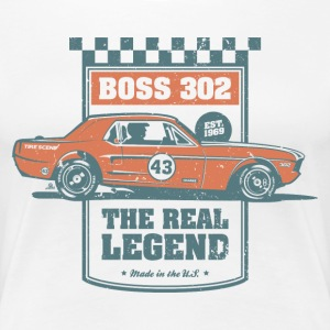 Boss 302 - The Real Legend - Frauen Premium T-Shirt