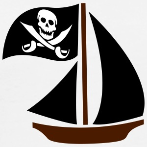 Pirate Boat T-Shirts - Men's Premium T-Shirt