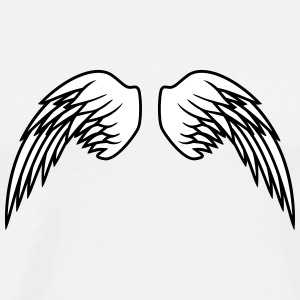 Angel Wings Design T-Shirts - Männer Premium T-Shirt