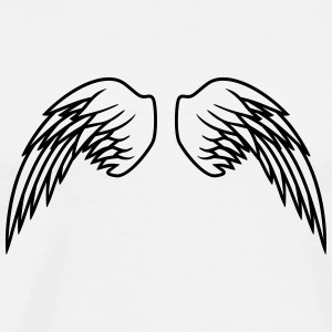 Angel Wings Design T-shirts - Mannen Premium T-shirt