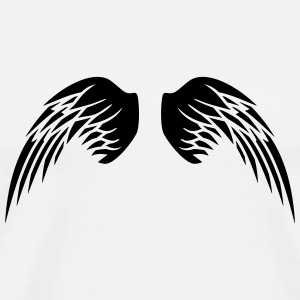 Angel Wings T-shirts - Mannen Premium T-shirt