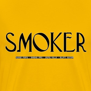 Smoker [Gently Edition] - Männer Premium T-Shirt