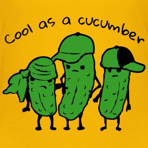 Cool as a cucumber T-Shirts - Kinder Premium T-Shirt