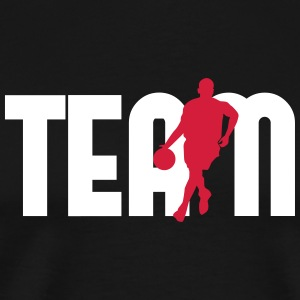 Team basketball - T-shirt Premium Homme