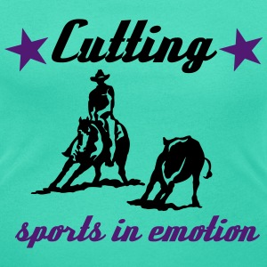 Cutting sports in emotion T-Shirts - Frauen T-Shirt mit U-Ausschnitt