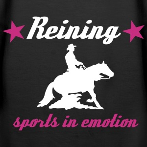 Reining Sports in Emotion Westernreiter Sliding  Pullover & Hoodies - Frauen Premium Hoodie