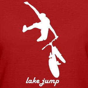 Lake Jump - Frauen Bio-T-Shirt