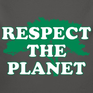 Respect the Planet Sudaderas - Body orgánico de manga larga para bebé