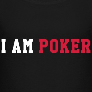 I am Poker T-shirts - Børne premium T-shirt