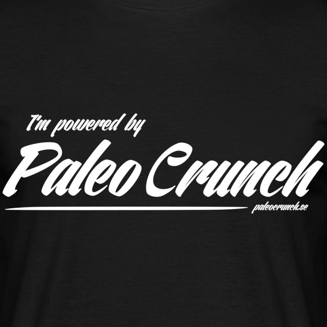 I'm Powerad by Paleo Crunch