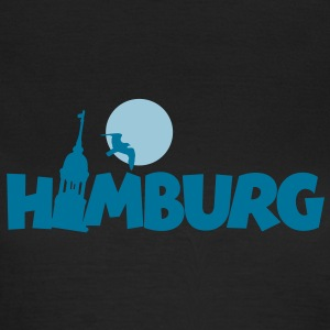 Hamburg T-Shirt Night in Hamburg - Frauen T-Shirt