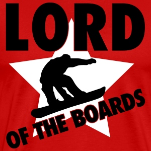 Lord of the boards T-shirts - Premium-T-shirt herr