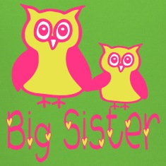 Eule_Big sister Hoodies