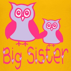 Eule_Big sister Shirts