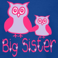 Eule_Big sister T-shirts