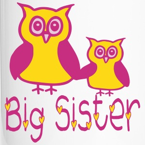 Eule_Big sister Bottles & Mugs - Travel Mug