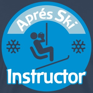Aprés Ski Instructor T-shirts - Mannen Premium T-shirt