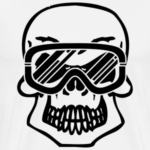 Winter Skull T-Shirts - Men's Premium T-Shirt