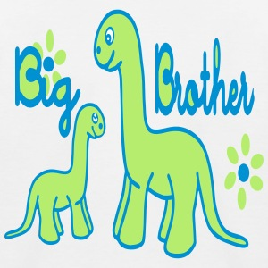 Dino_big brother T-shirts - Baseboll-T-shirt barn