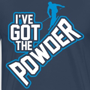 I've got the powder T-Shirts - Men's Premium T-Shirt