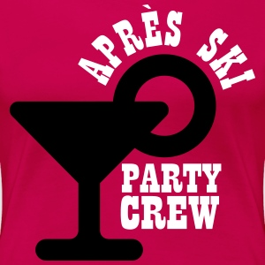 Apres ski party crew T-Shirts - Frauen Premium T-Shirt