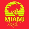 miami beach Sweat-shirts - Sweat-shirt à capuche Premium pour femmes