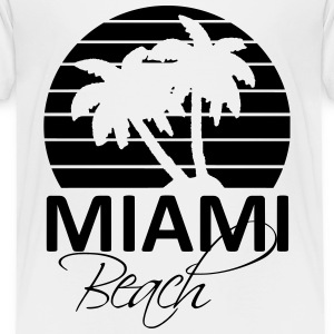 miami beach Shirts - Kids' Premium T-Shirt