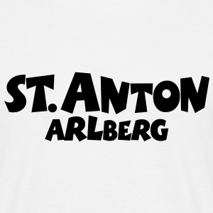 St. Anton Arlberg T-Shirt (Men/White) - Men's T-Shirt