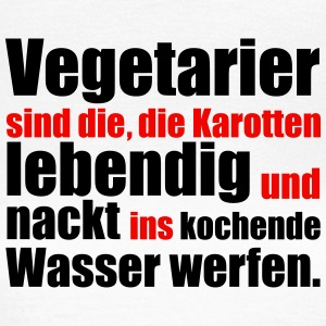 Vegetarier T-Shirts - Frauen T-Shirt