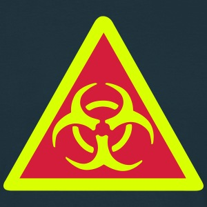 Warning Biohazard T-Shirts - Men's T-Shirt