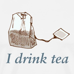 I drink tea - Männer Premium T-Shirt