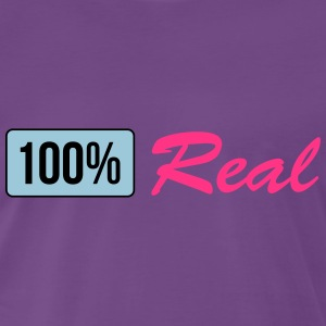 100 percent real T-Shirts - Men's Premium T-Shirt