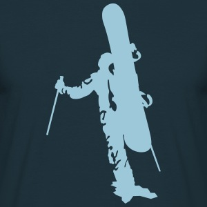freerider snowboard T-Shirts - Men's T-Shirt