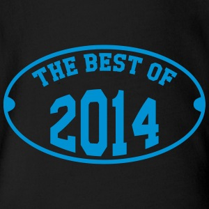 The Best of 2014 Shirts - Organic Short-sleeved Baby Bodysuit