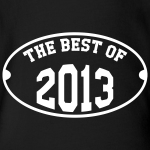 The Best of 2013 Shirts - Baby bio-rompertje met korte mouwen