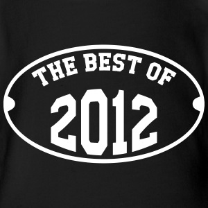 The Best of 2012 T-shirts - Ekologisk kortärmad babybody