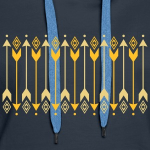 Arrows, archery, Indians, contactors, protection Sweatshirts - Dame Premium hættetrøje