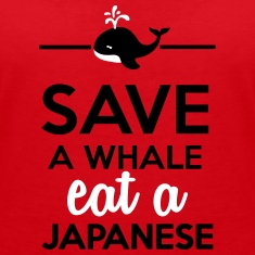 Dining - Save a Whales eat a Japanese T-Shirts