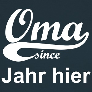 Oma since T-Shirts - Frauen T-Shirt